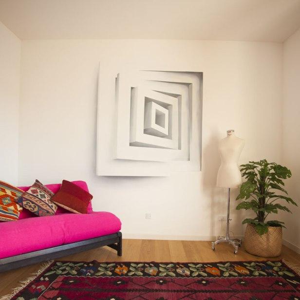 Living room Optical Square